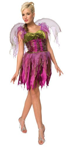 Living Fiction Beaux Fancy Fairy Masquerade Womens 2pc Party Costume Fuchsia Large (14-16)