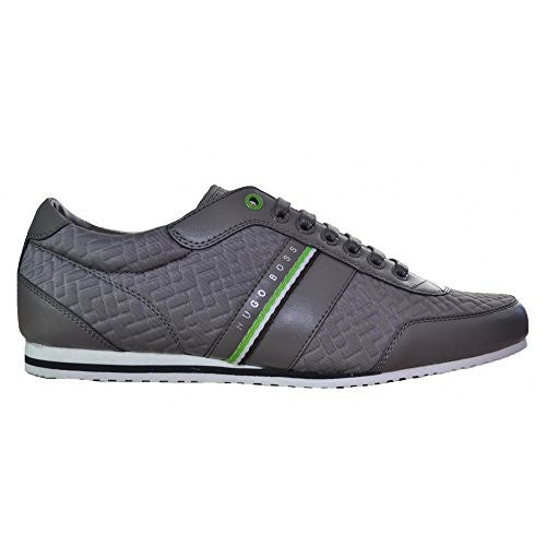 Hugo Boss Men's Hugo Boss Green Men's Victual Dark Grey Trainers 7 UK/41 Euro