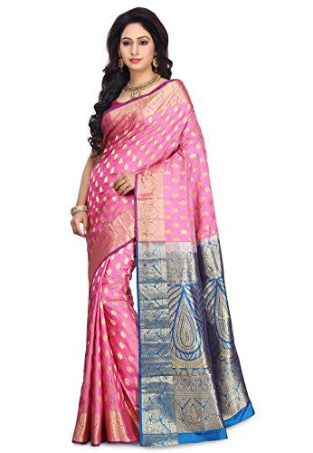 Pure Arani Silk Saree in Pink