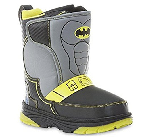 DC Comics Boys Batman Winter Boot (10 M (US) Toddler)
