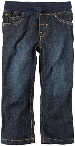 Carter's Boys Woven Pant 248g382, Denim, 3T Toddler