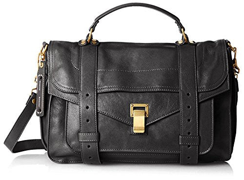 Proenza Schouler Women's PS1 Medium Bag, Black