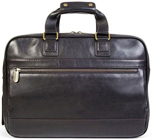 Bosca Men's Taconni - Stringer Bag Black Laptop Bag