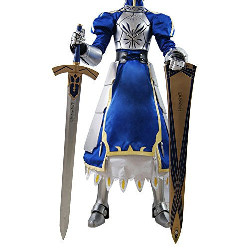 Mtxc Women's Fate/Stay Night Cosplay Saber Outfit Size XXX-Large Blue