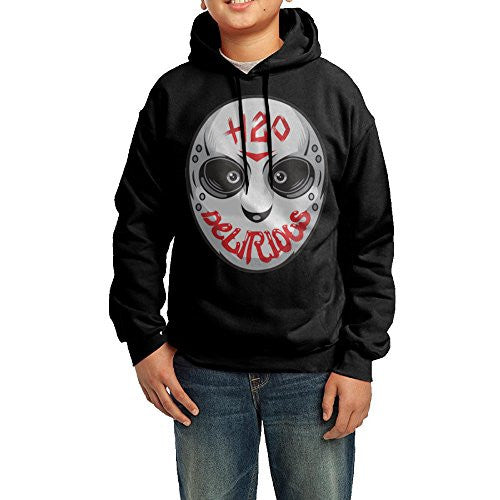Kid's Youth H2O Delirious Logo Hoodies Pullover Hooded Sweatshirts L