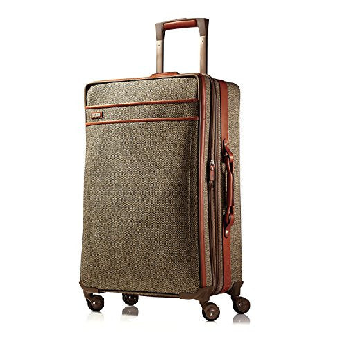Hartmann Tweed Collection Medium Journey Expandable Spinner (NATURAL TWEED)