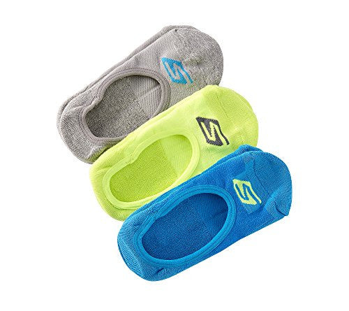 Skechers 3-Pack No Show Terry Socks