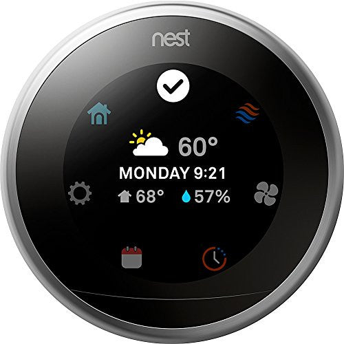 Nest Thermostat (3rd Generation) (Silver)