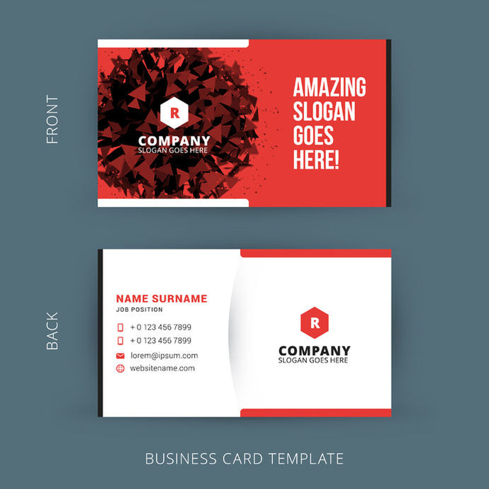 500 Standard Full Color Business Cards 3.5