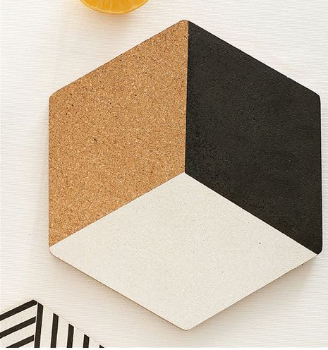 Geometric Coaster Set of Four