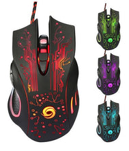 6 BUTTON LED GAMING MOUSE