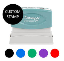 "N10 XStamper {Custom Stamp- Choice of 5 colors} Imprint size: 1/2"" x 1-5/8"""