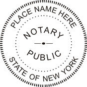 "N53 XStamper {Notary Stamp- Choice of 5 colors} Imprint size: 1-9/16"" DIA"