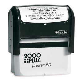 "Cosco 2000 Printer 50 {IMPRINT SIZE-2 5/8""  x 1 1/8""}"