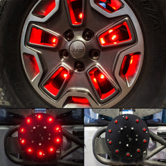 Spare Tire 3rd brake light V1 series