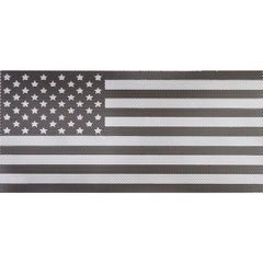 Black and White Flag Inserts & Vent Decals Bundle