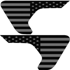 Blackout Flag Inserts & Vent Decals Bundle