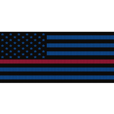 Black & Blue Thin Red Line