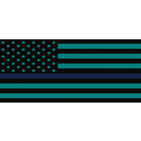 Black & Light Blue Thin Blue Line