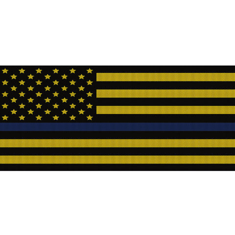 Black & Yellow Thin Blue Line