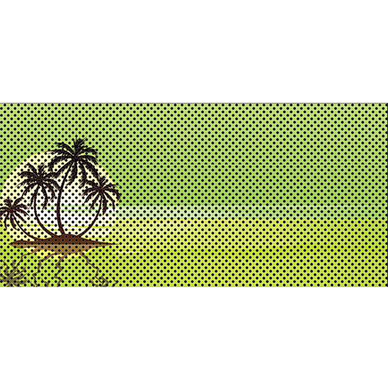Endless Summer - Hyper Green - Palm Tree