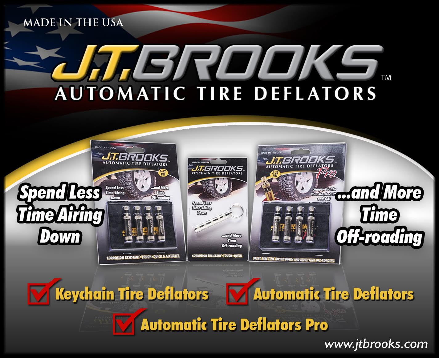 J.T.  Brooks Automatic Tire Deflators