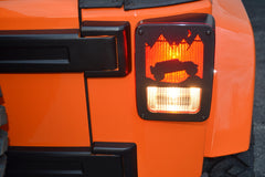 Combo Deal Jeep® Tweaks JK Terrain Tail Light Guards and 3rd Break Light Cover