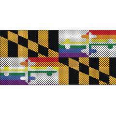Show Your Pride Maryland Flag