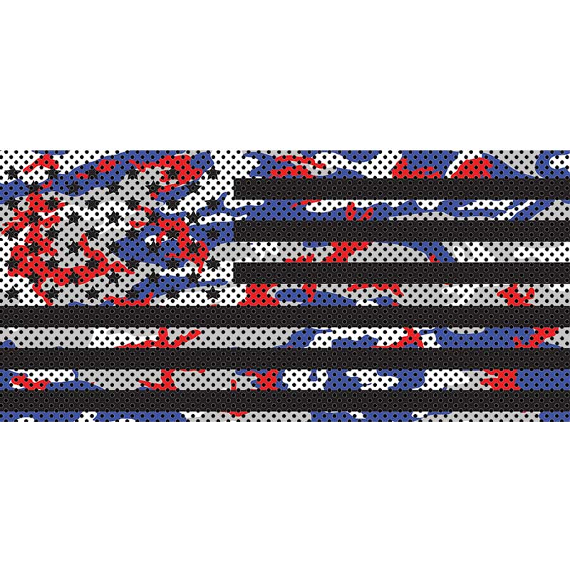 Patriot Colors Camo Stars & Stripes