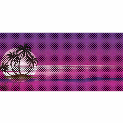 Endless Summer - Purple - Palm Tree