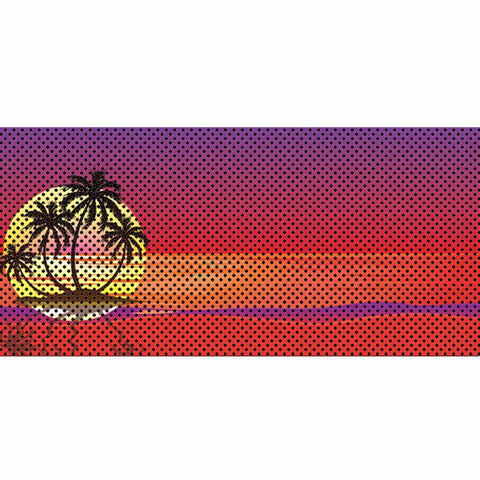 Endless Summer - Red - Palm Tree