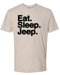 Eat. Sleep. Jeep. Short Sleeve