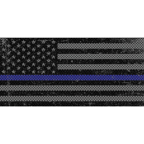 Distressed Thin Blue Line