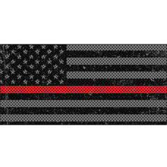 Distressed Thin Red Line