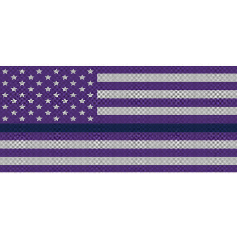 White & Purple Thin Blue Line