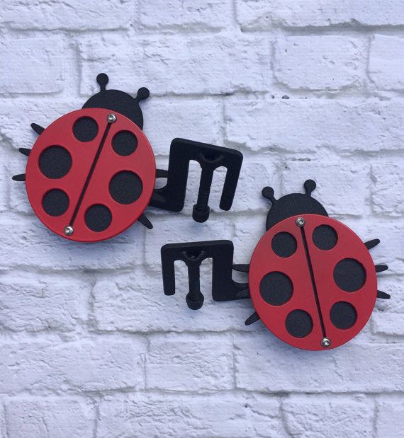 Two Layer Ladybug Foot Pegs