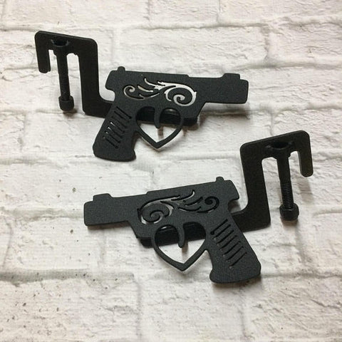 SALE** Hand gun heart Jeep Wrangler foot pegs