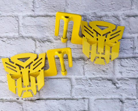 Bumblebee Yellow Bot Jeep foot pegs JL/JK/TJ/YJ/CJ