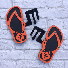 Two color Flip Flop Foot Pegs