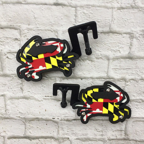 Maryland Flag Foot Pegs