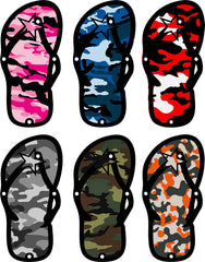 Flip Flop Foot Pegs- Many color and print options