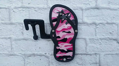Flip Flop camo design foot pegs- Many color and print options
