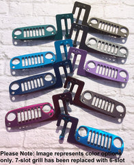 Colors! CJ, YJ, TJ or JK Grille foot pegs