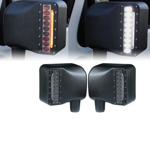 Side Mirrors with LEDS