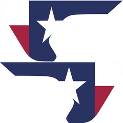 Texas State Flag Inserts & Vent Decals Bundle