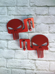 Skull foot pegs for Jeep Color options!