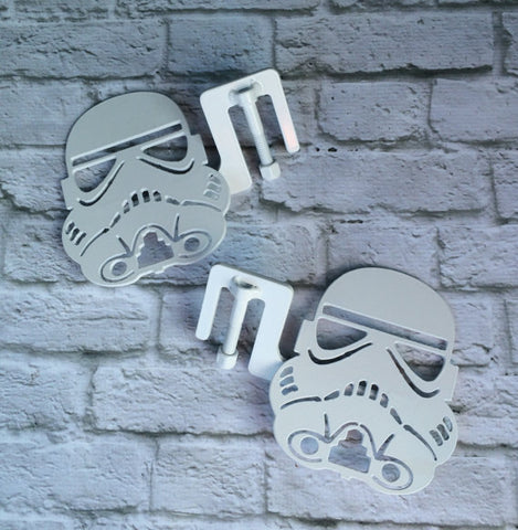 Storm Trooper Star Wars JK/CJ/TJ/Y.J foot pegs