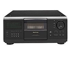 Sony CDP-CX250 MegaStorage 200 CD Changer Player 200 Compact Disc Deck CD Text Ready Digital Optical Out