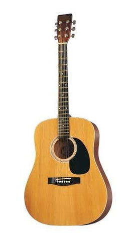 41 Inch Natural Acoustic Guitar Without Accessories