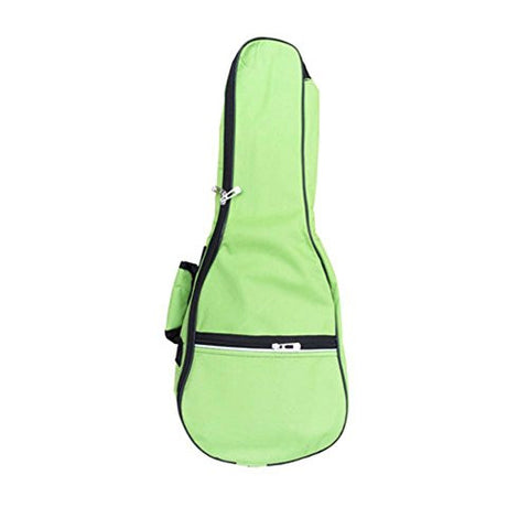 21 Inch Top Quality Ukulele Case 5MM Padding with Adjustable Straps,Green